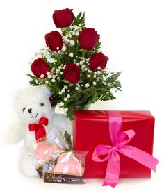 Valentine's Day Packages - Be Mine Package - Flowerama Columbus - Columbus Florist - Same Day Flower Delivery