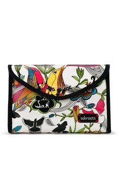 Sakroots Artist Circle Flap Cosmetic Bag