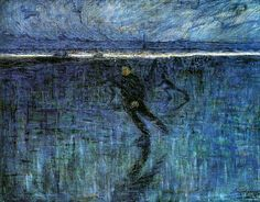 Eugene Jansson (1862-1915): Skridskoakare, 1902