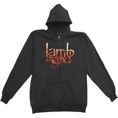 Lamb Of God Vulture Zippered Hooded Sweatshirt