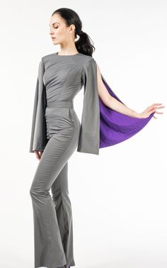 Pants suit ensemble by LauraGalic on Etsy