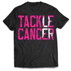 Let's Tackle Cancer ™ one shirt at a time! 20% ($4.40 at full price) from every shirt purchase will be donated to breast cancer research, the Breast Cancer Research Foundation! After reviewing a lot o