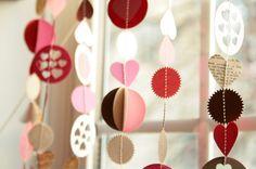 Fiore Magazine: DIY: Guirlanda de corações...