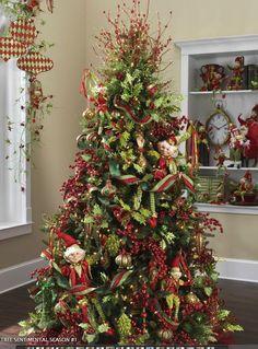 Elves! Too Cute! RAZ Christmas Trees