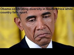 (7029) Obama going to South Africa to celebrate diversity while country falls apart - YouTube