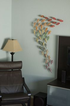 Origami koi project. Fun...and tedious. (As the best things usually are.)