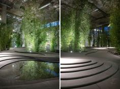 """Kengo Kuma's """"Naturescape"""" Brings The Natural World Back To The City"""