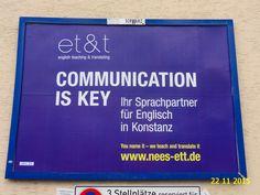 717. - Plakat in Stockach. / 22.11.2015./
