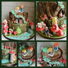 enchanted forest cake by YUMMY FUNNY CAKES, via Flickr