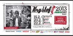 Kryštof Inzerát tour 2013 Event Ticket, Tours, City, World, Cover, Cities, The World