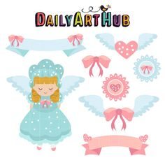 (FREE Daily Cut File)  Cute Angel - Available for FREE today only, Aug 18