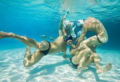 Underwater Blue