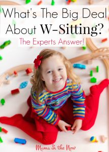 What is the big deal about w-sitting children? Is it harmful, is it a sign of something else? A group of pediatric OT and PTs answer the question. Don't miss their advice.