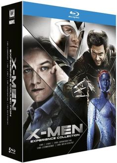 Coffret intégrale X-men - Coffret 5 Blu-ray 30€