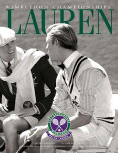 Nils Lawton and Sean Harju - Ralph Lauren Wimbledon Summer 2012 Campaign (Ralph Lauren)