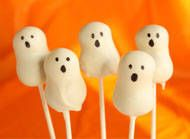 Ghost Cake Pop Recipe - How to Make Ghost Cake Pops - Halloween Candy Recipes
