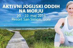 Aktivni jogijski oddih na morju