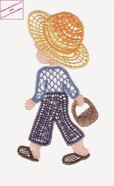 Needle Lace, Bobbin Lace, Lace Design, Little Man, Needlework, Crochet Necklace, Collection, Dish Towels, Bobbin Lacemaking