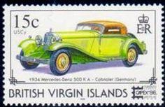 1934 Mercedes-Benz 500KA Cabriolet