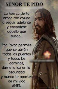 Jesus Prayer, Prayer Verses, Faith Prayer, Prayer Quotes, Wisdom Quotes, Gods Love Quotes, Good Day Quotes, Catholic Prayers In Spanish, Good Night Prayer