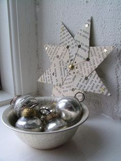 Paper star..anyone have instructions for making these?