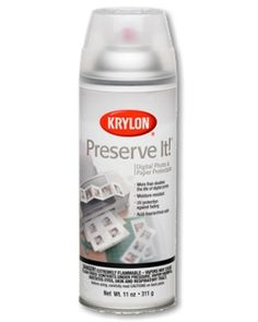 Preserve It!® Digital Photo & Paper Protectant - | Krylon