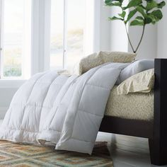 PrimaLoft® Deluxe Comforter - So luxuriously soft and lofty, you won't believe it's not down.