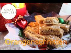 Orangenschnitten/ Köstliche Weihnachtsplätzchen mit Nüssen und Orange