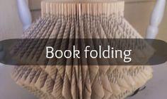 Book Folding Tutorial | Pandora's Craft Box