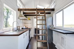 The Wahls had tiny dreams, egged-on by those tiny house TV shows. Their tiny house started as a drawing on white paper, which turned into a c computer rendered image from their builders, Mint Tiny House Company of Delta, British Columbia. Then three months later, their tiny house was a reality. It measures 24 ft …