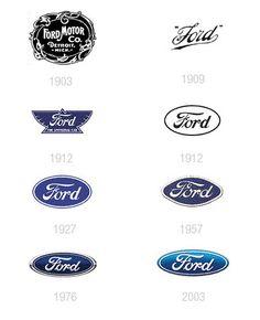 Ford- # Brand- #Evolution #logo