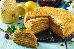 Hrnčeková medová torta | Recepty.sk