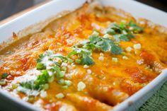 enchiladas with green sauce