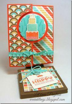 LeAnne Pugliese WeeInklings Stampin Up Make A Wish Birthday Card