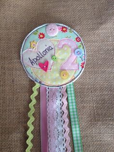 Personalised Birthday Rosette