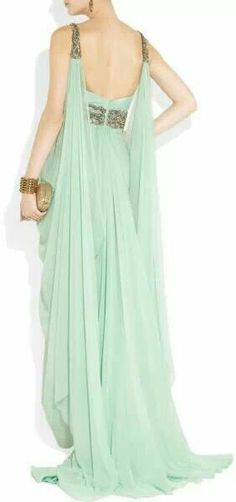 love this for the bridesmaids, looks like a greece godess dress lol