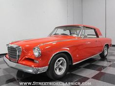 1962 Studebaker Hawk Coupe