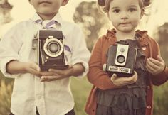 i secretly want my future littles to take up photography.