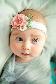 Newborn Photo Prop Tieback, Ribbon Headband, pink rose and silk hair tie, newborn photography prop
