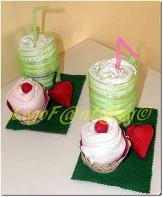 Diaper cake - cupbodycake