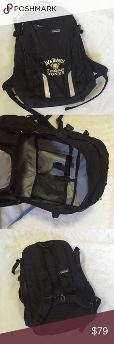 """Patagonia jack Daniels  black Aysen 25 L backpack 20"""" height 14"""" long in great condition very sturdy highest quality! Rare!! Patagonia Bags Backpacks"""