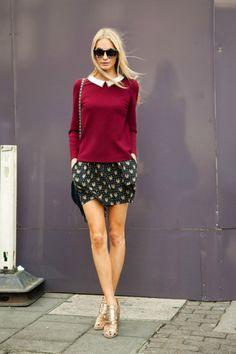 what-id-wear:(street style : Poppy Delegvine )Style For Women
