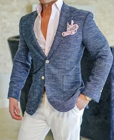 One of our latest S by Sebastian Denim Icona Jacket. Something you will definitely not find at a store near you. Get yours today! #sebastiancruzcouture #MensFashionClassy