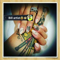 #nailsartist#billartist#bill_cali#