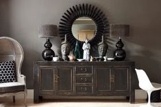 Asian Home Decor Easy to striking ideas Creative to ingenious answers to organize a charming and pleasant diy asian home decor . This stunning image generated on a great day 20190523 , Stlying Idea Reference 5145988905 Asian Interior, Interior Styling, Interior Design, South African Homes, Large Sideboard, Credenza, Ethnic Decor, Asian Home Decor, Interior Inspiration
