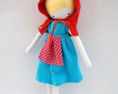 Bailarina muñeca de tela con tutú rosa de por lassandaliasdeana