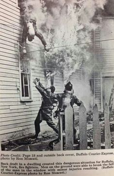 Buffalo Firemen Bailing Out. Photo From: Firefighter Training, Firefighter Paramedic, Volunteer Firefighter, Firefighters, Firemen, Firefighter Quotes, Fire Training, Firefighter Pictures, Fire Art