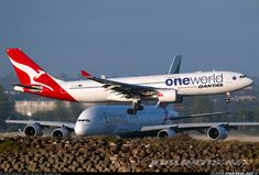 Airbus A330 and A380 in action in SYD!