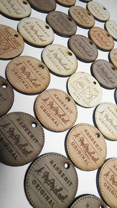 Custom Wood Tags Custom Engraved