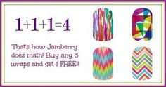Join the #Jamberry party!!! Buy 3 nail wrap styles, get one free! {consultant- Beth Valencia, Host- Robin Stephens for online party from 8/27-14-9/14/14}  #nailwraps #naildecals #nailart #manicure #pedicure